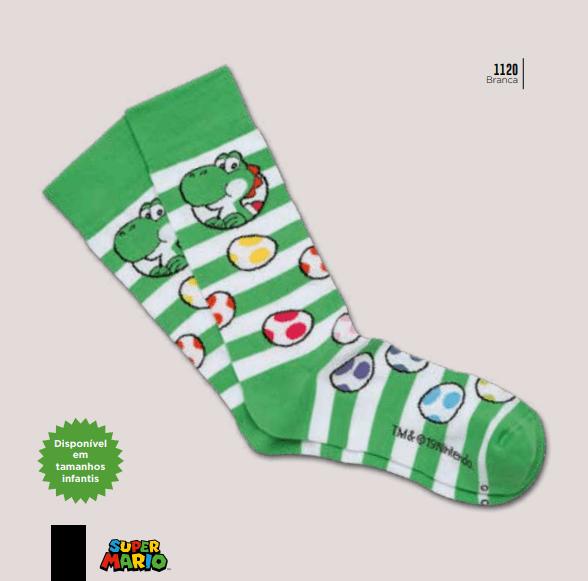 Meia Lupo 16857-002 Super Mario Yoshi