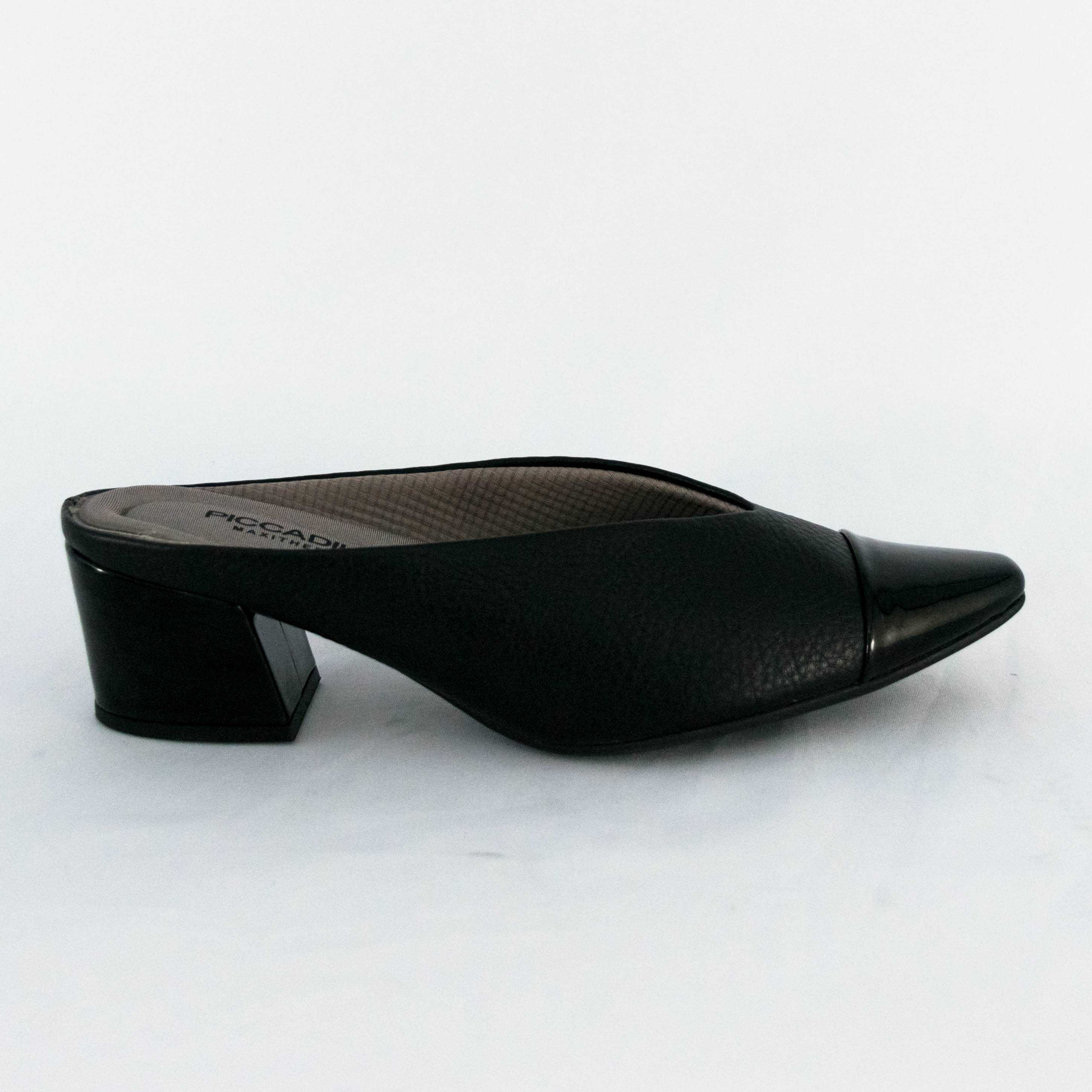 Mule Piccadilly 744079 MaxyTherapy Preto