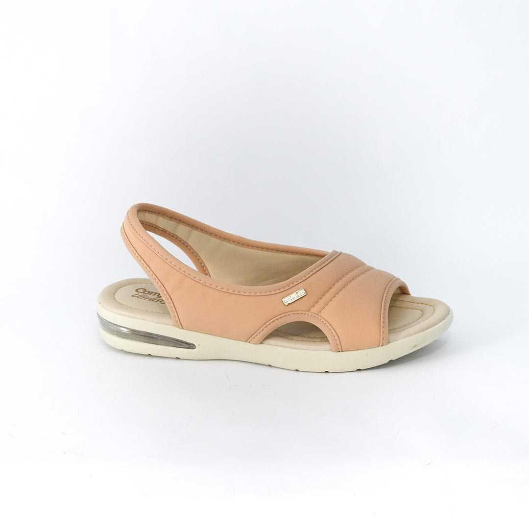 Sandália ComfortFlex 1866405 Lycra Soft