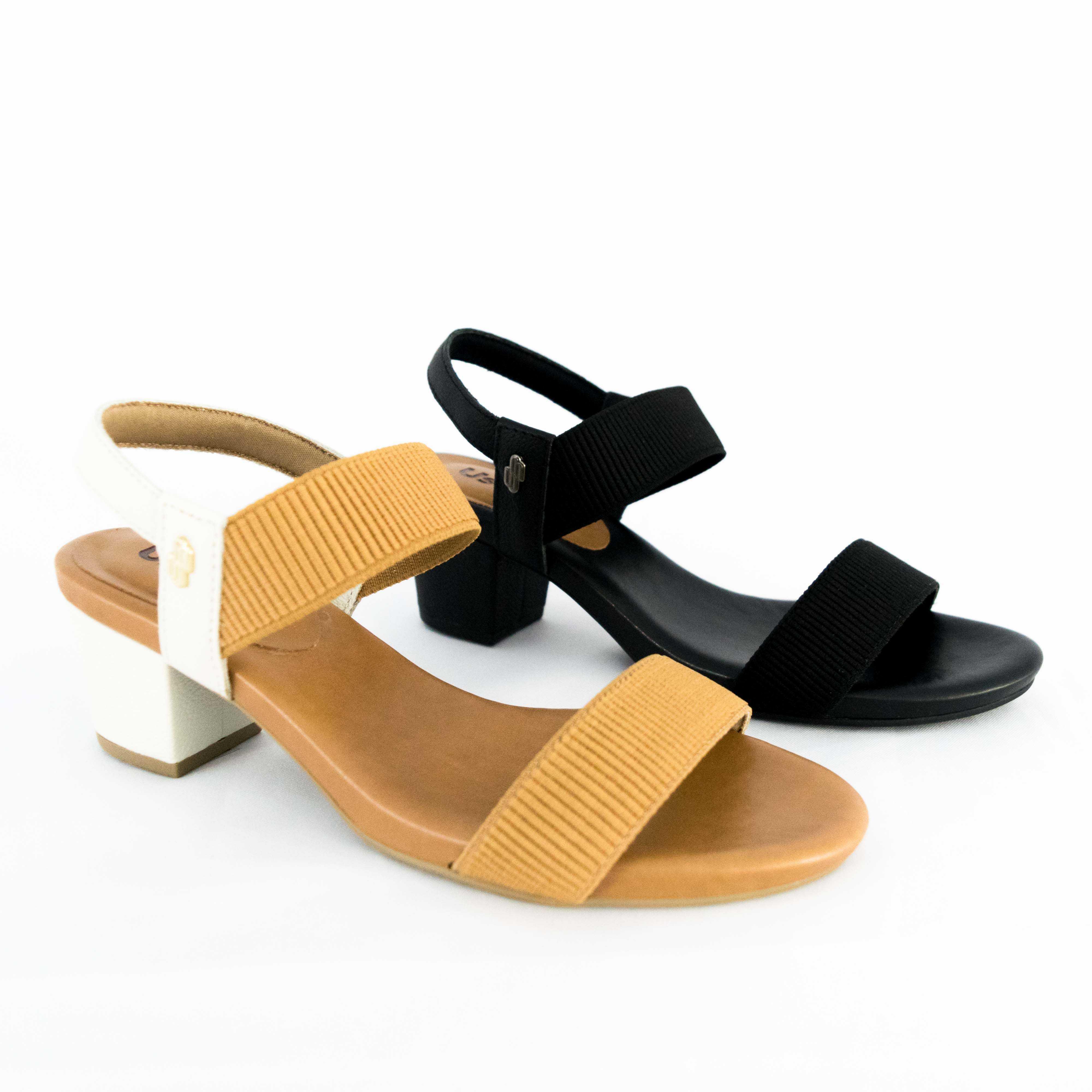 Sandália Usaflex Y8204 Elástico Canelado