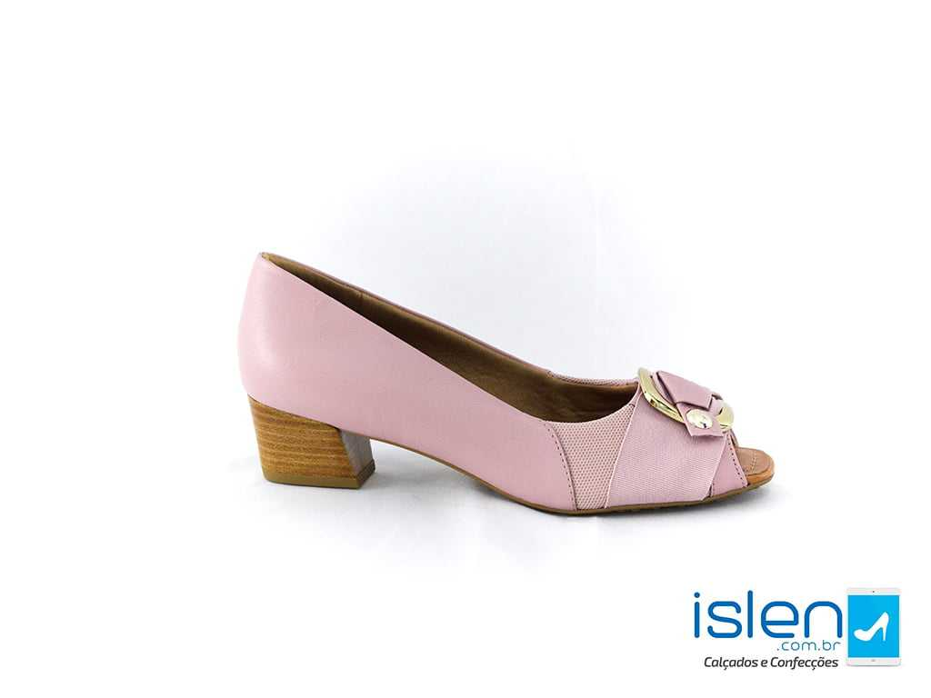 Sapato Usaflex 56560/02 Caprina Lavanda Rosa