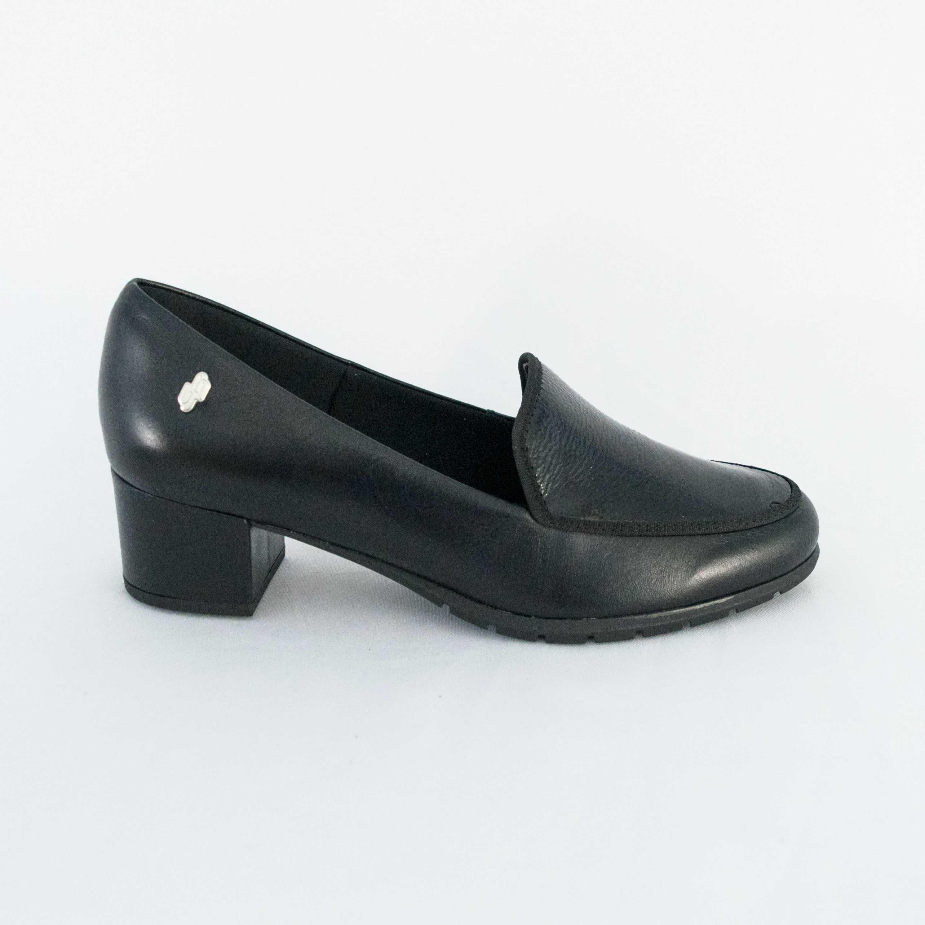 Sapato Usaflex AB8607 Batik Preto