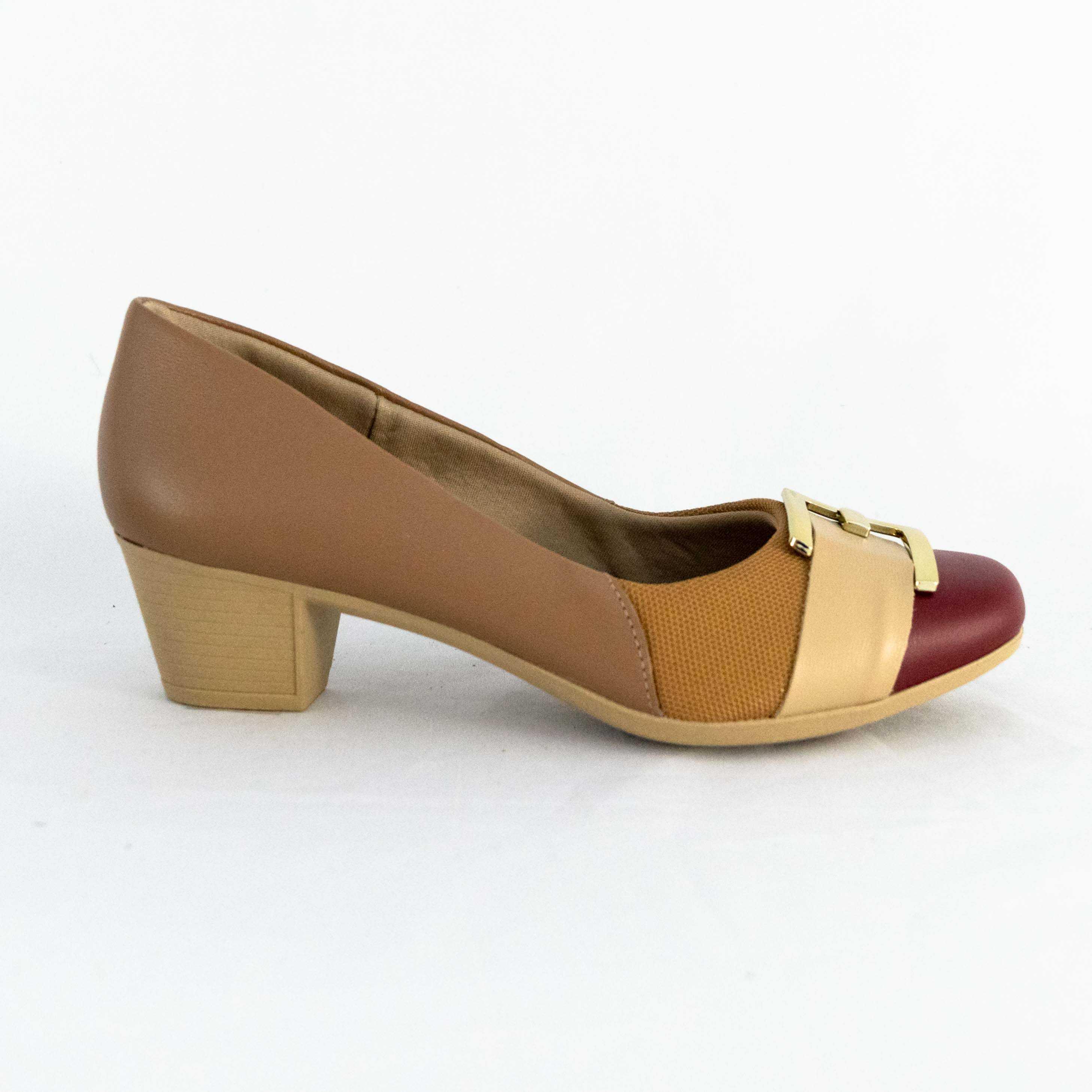 Sapato Usaflex AC3208 Linha Care Joanetes