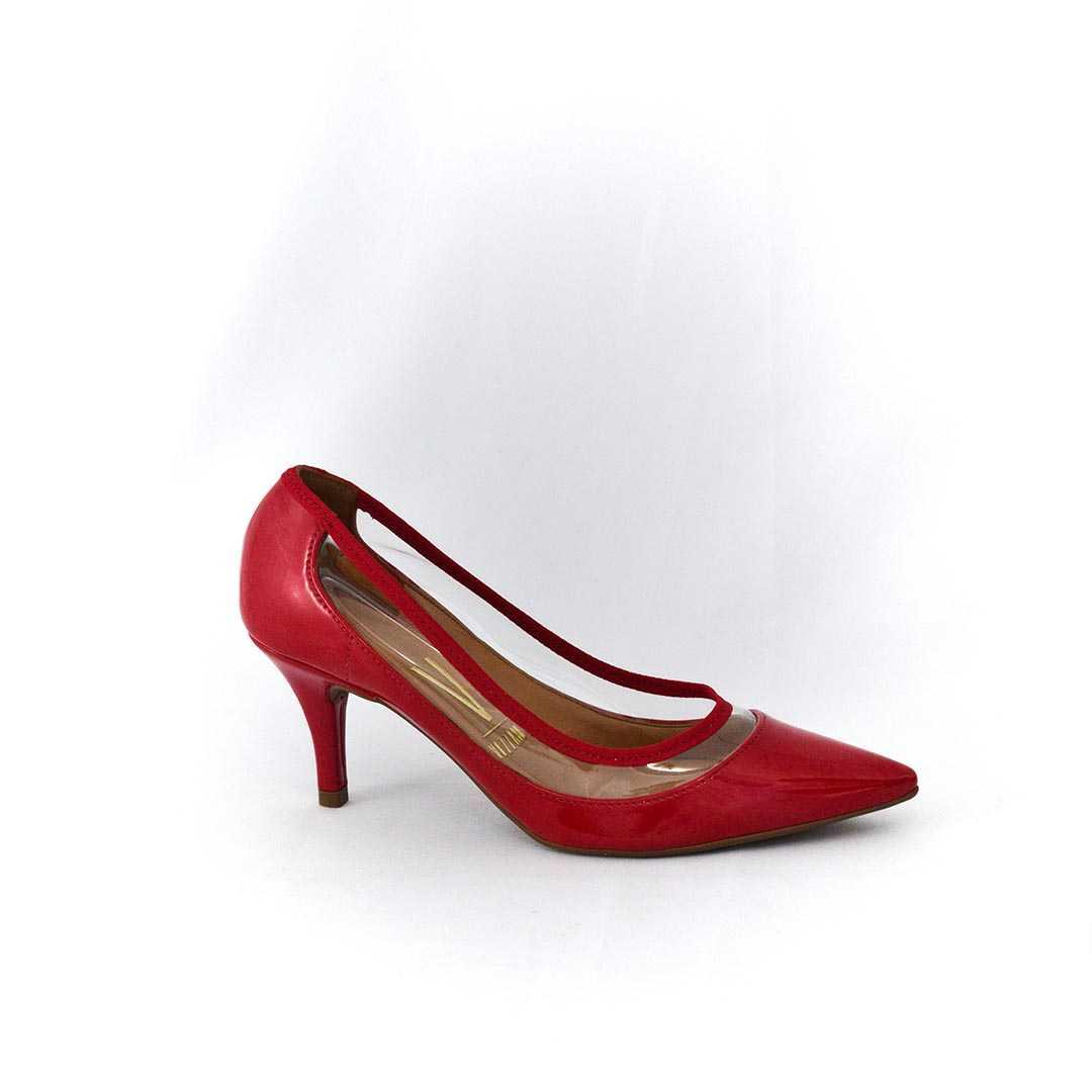 Sapato Vizzano 8268478 Verniz Vermelho Paixão/Translúcido
