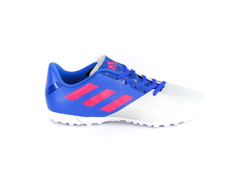 Chuteiras Society Adidas Artilheira II Cinza/Azul
