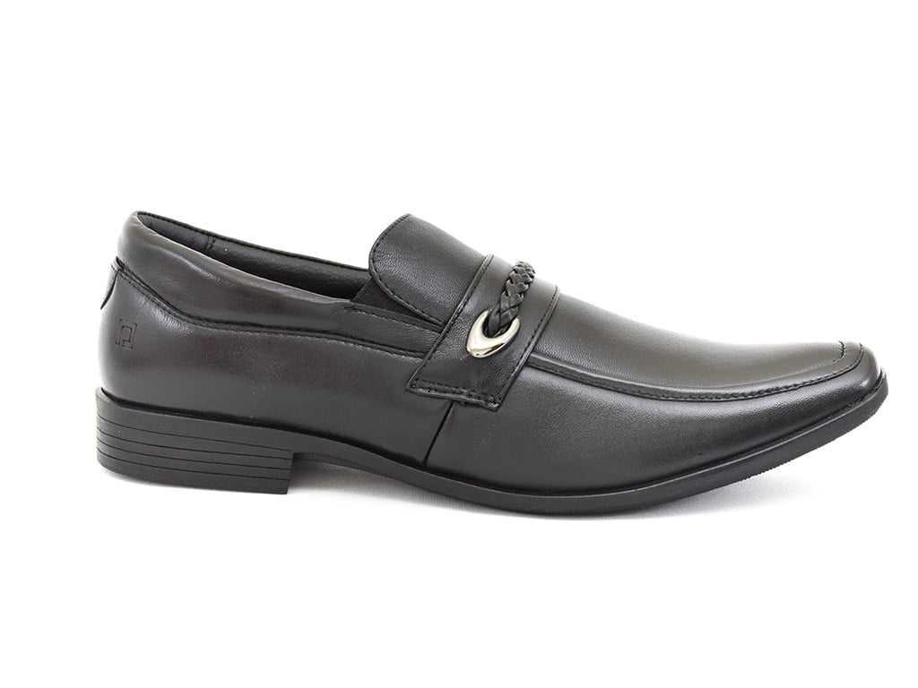 Sapato Masculino Pipper Couro/Solado Borracha