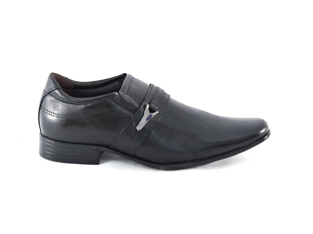 Sapato Pegada 124608-01 Anilina Vegetal Preto