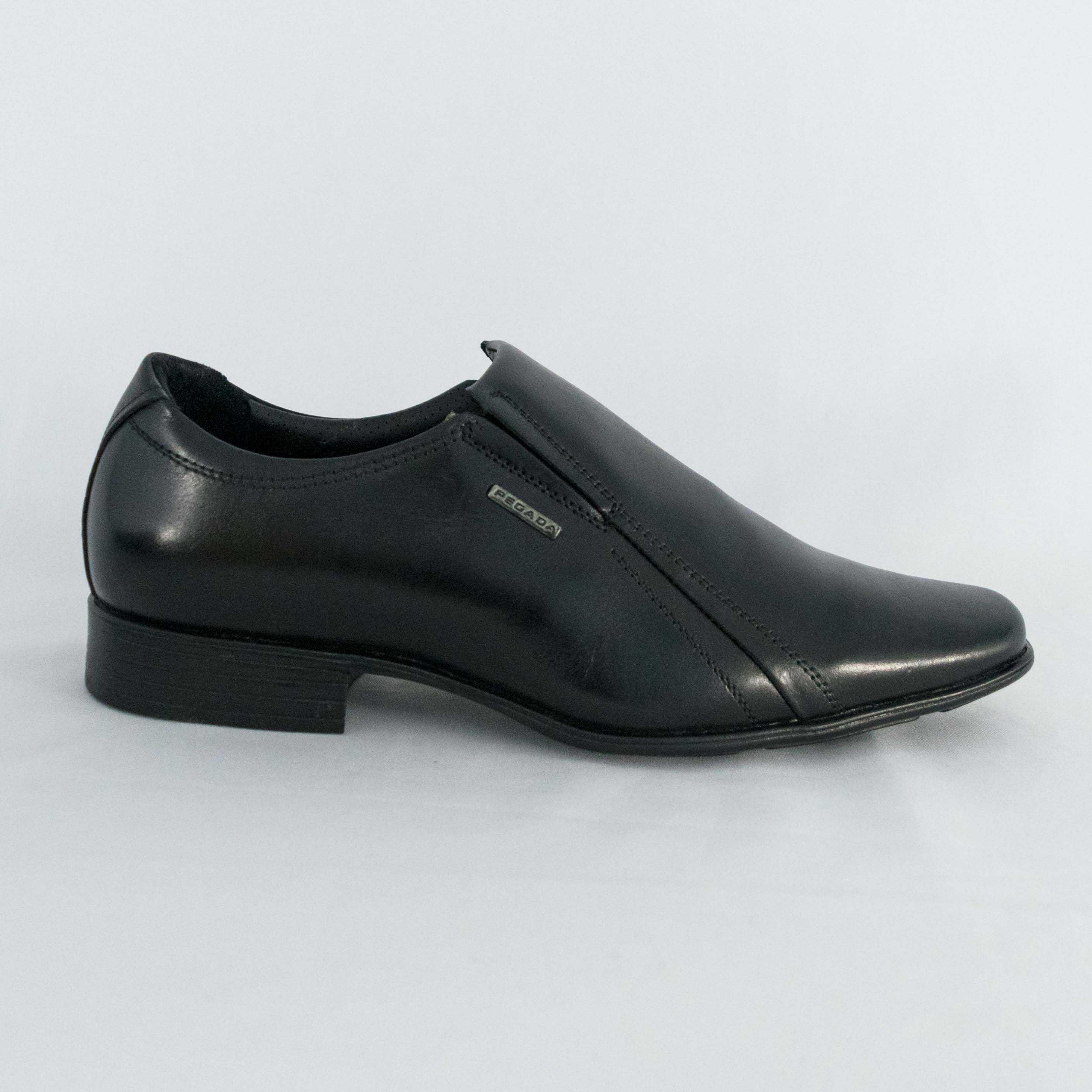 Sapato Pegada 124653 Anilina Preto liso