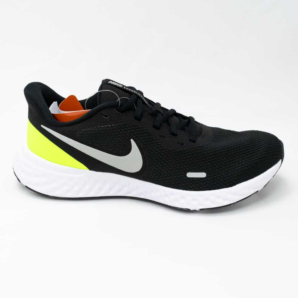 Tênis Nike BQ3204 010 Revolution 5 Black/Lime