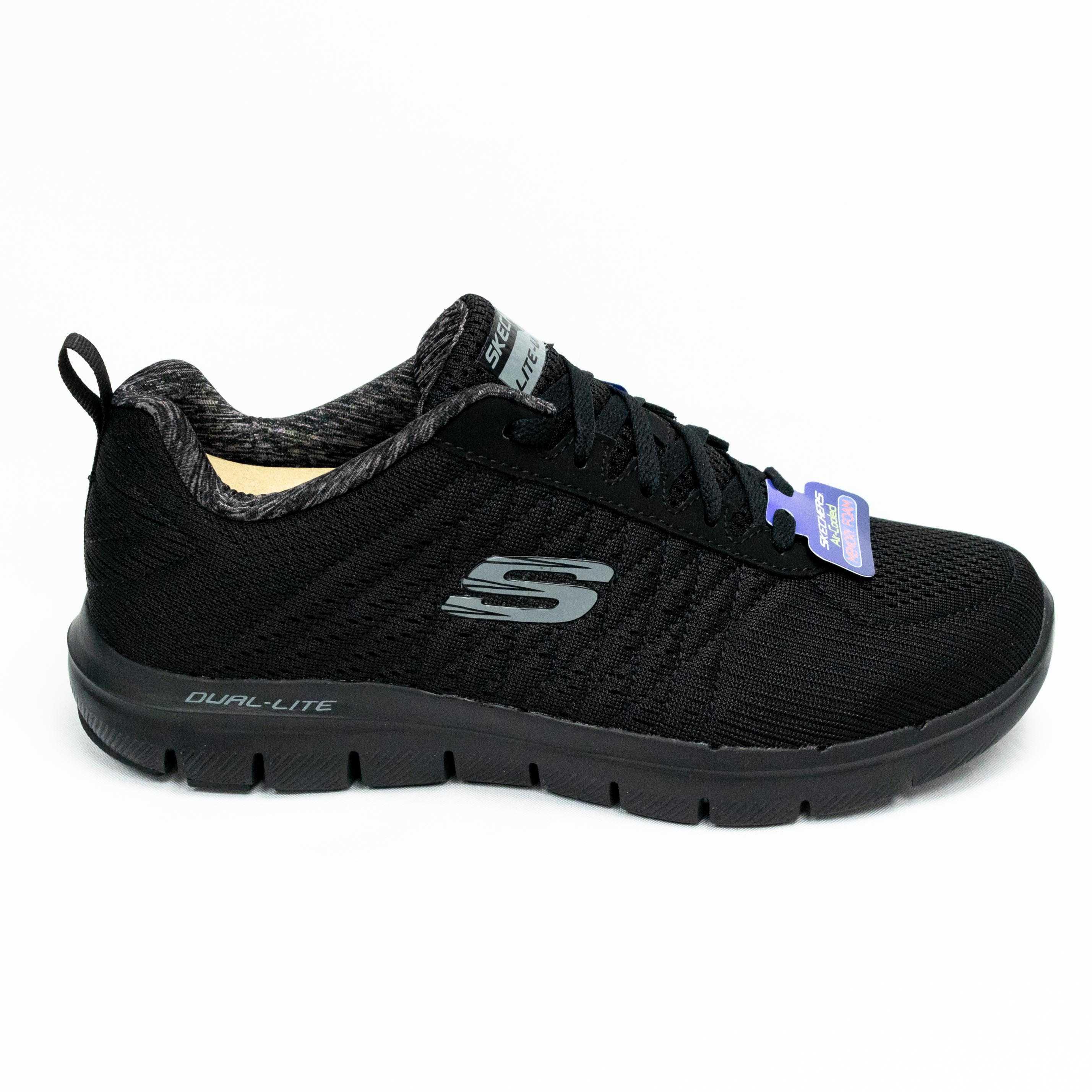 Tênis Skechers T52185 Flex Advantage 2.0 All Black