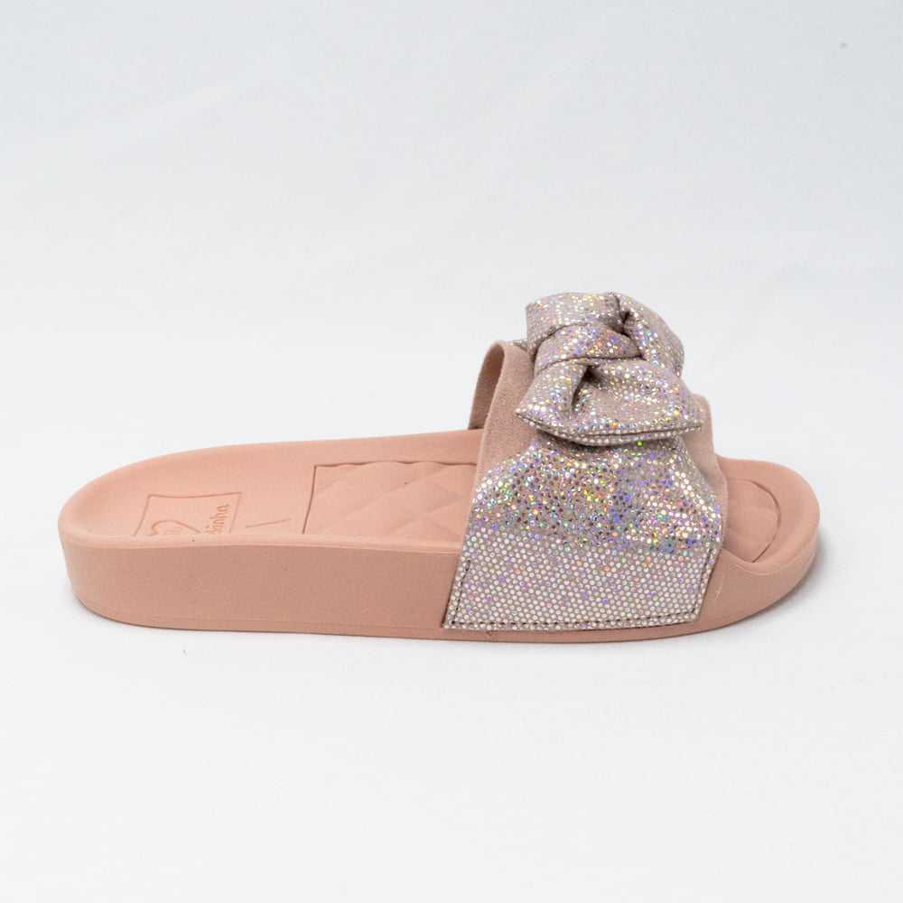 Chinelo Molekinha 2311.103 Slide Glitter
