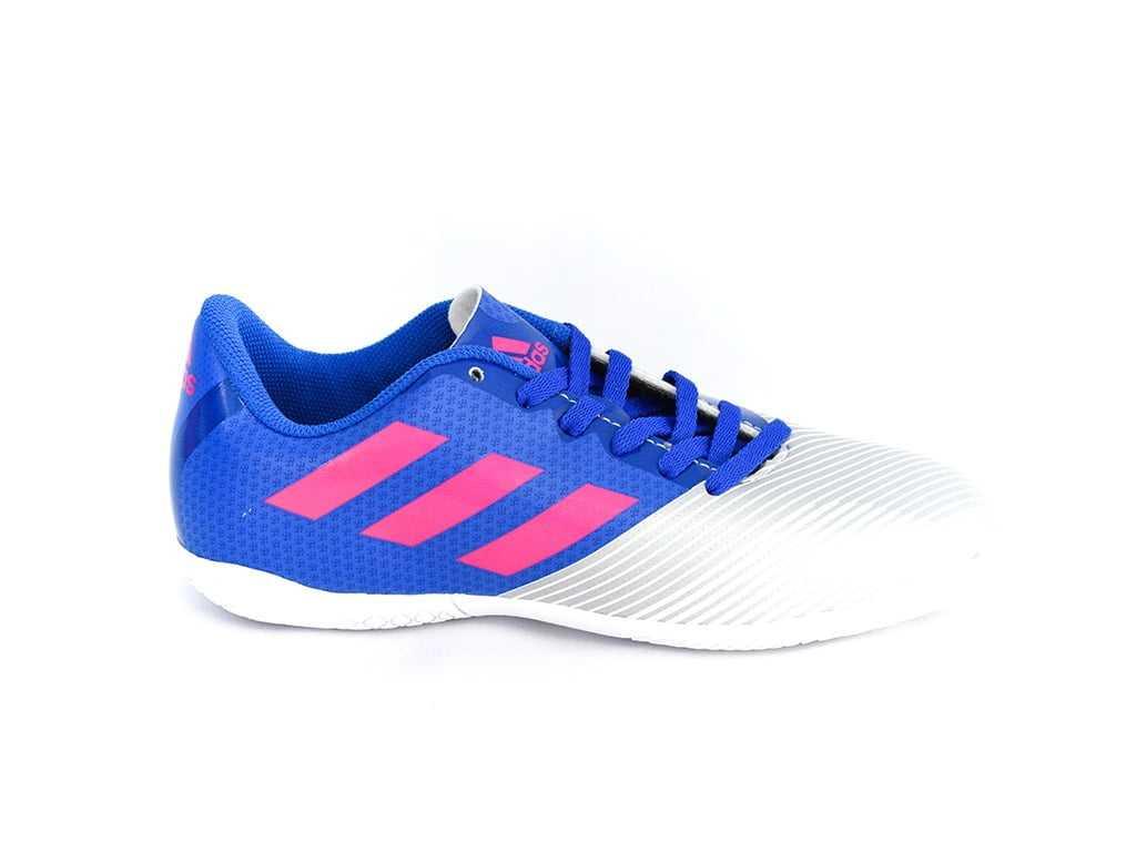 Tênis Futsal Adidas Artilheira II Azul/Prata Junior
