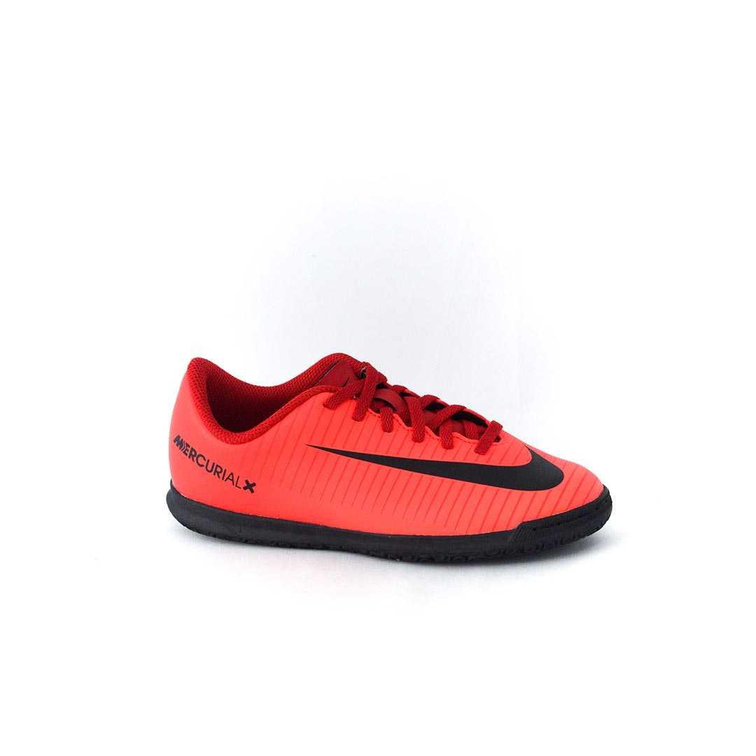 Tênis Nike JR MercurialX Vortex III IC Futsal Vermelho