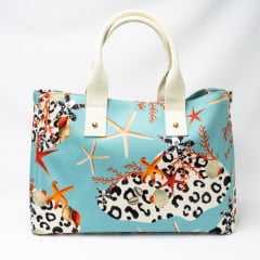 Bolsa Indaiá A-IND6960 Shopping Bag Sea