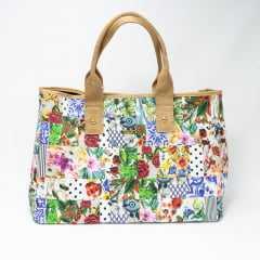 Bolsa Indaiá I-IND6775 Shopping Bag Floral