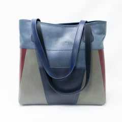 Bolsa JGean GB0006 Shopper em Couro Natural