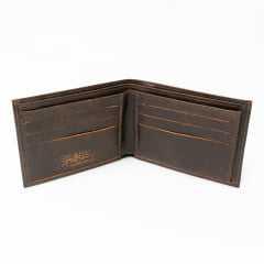 Carteira Fasolo K783222 Vintage Fusca em Couro Legítimo Lixado