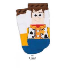 Meia Lupo 02354-003 Toy Story 4 Woody e Buzz