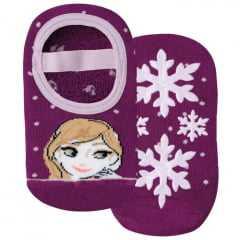 Meia Lupo 02374-0021 Frozen II com Solado Antiderrapante
