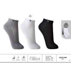 Meia Lupo 03225-089 AU Walk Kit com 3 Pares