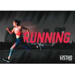 Meia Vistho VS02 Running Performance em cano Curto