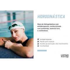 Meia Vistho VS13 Hidroginástica com Silicone antiderrapante