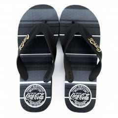 Chinelo Coca-Cola Shoes CC2389 Preto/Preto