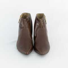 Bota Usaflex AB8004 Batik Cano curto Chocolate
