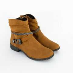 Bota Dakota G1224 Garland/Coniglio Nitra Preto/Natural