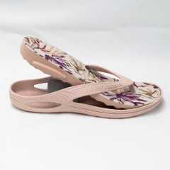 Chinelo BoaOnda 1319 para Esporão Lily com palmilha Comfort Floral
