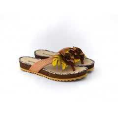 Chinelo Bottero Botgarini 280101 Caramelo/Amarelo