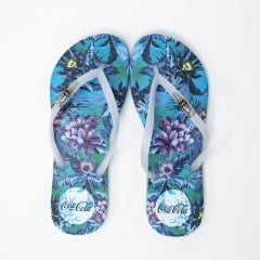 Chinelo Coca-Cola CC2993 Jungle Floral