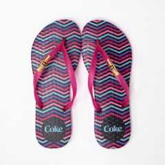 Chinelo Coca-Cola CC3060 Colorful Chevron