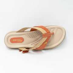 Chinelo Pegada 232801 Couro legítimo com palmilha Comfort
