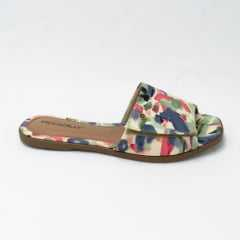 Chinelo Piccadilly 508023 Slide Tie Dye com Velcro para ajustes