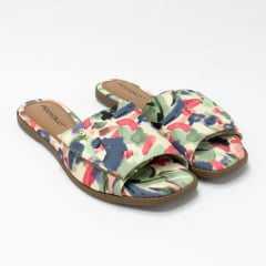 Chinelo Piccadilly 508023 Slide Tie Dye com Velcro para ajustes