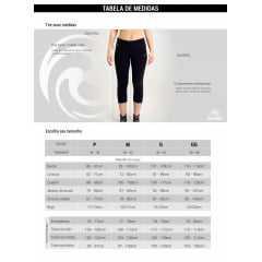 Bermuda Rola Moça 10235 Ciclista Fake Jeans Reversivel 2 em 1