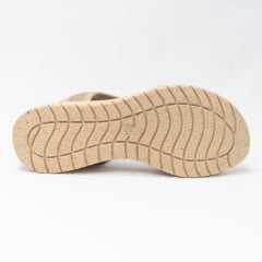 Sandália ComfortFlex 20-51431 em Tecido Lycra EcoStyle com proteção de Joanete