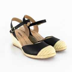 Sandália Dakota G1531 Espadrille Garland Preto
