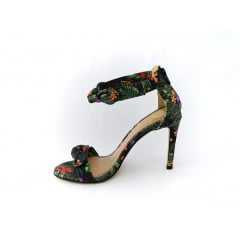 Sandália Dumond 4113435 Weekend Floral Soft Tropical Verde