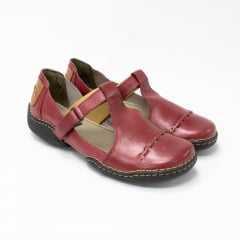 Sandália JGean CL0057 Couro legítimo com Velcro