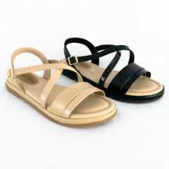Sandália Modare 7139.104 Rasteirinha Verniz Premium