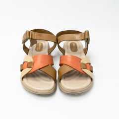Sandália Pegada 232804 Couro legítimo com palmilha Comfort