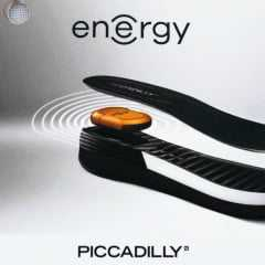 Sandália Piccadilly 815017 com tecnologia Energy iMoov Preta