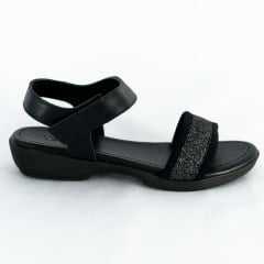 Sandália Usaflex AC4105 Tecido Lycra com Velcro Ajustável