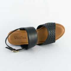 Sandália Usaflex AC4506 Soft Slim Preto