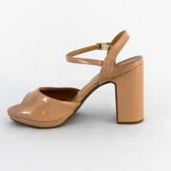 Sandália Vizzano 6406.100 Verniz Premium Nude