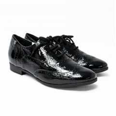 Sapato Oxford Bottero 315104 Couro Show Verniz