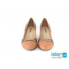 Sapato Bottero 285921 Taupe Couro