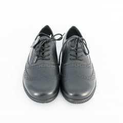 Sapato Bottero 301905 Argos Oxford Couro Tanino Preto